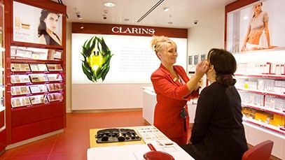 Clarins at Manchester Airport